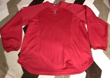 Los Angeles Angels Of Anaheim Long Sleeve Majestic Therma Base Shirt Rare