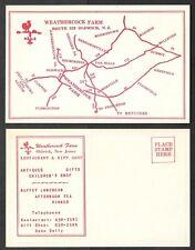 Old New Jersey Postcard - Oldwick - Weathercock Farm