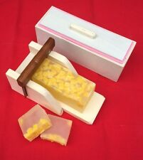 1 Wooden Wood Soap Mold with Silicone Liner and 1 Soap Cutter box, Combo set