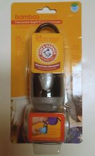 NEW Arm & Hammer Bamboo Home Disposable Waste Bags & Dispenser Dog Pet