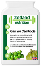 Garcinia Cambogia CLA chromium green coffee glucomannan cinnamon 90 capsules