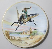 "Haviland Limoges ""The Magic Horse"" Le Cheval Magique by Liliane Tellier Plate"