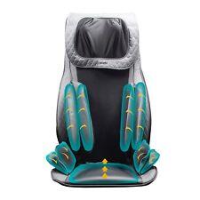 NueMedics Seat Topper Back and Neck Massager Shiatsu Massaging with - Remote -