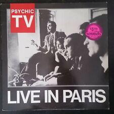 Psychic TV –   Live In Paris - record vinyl