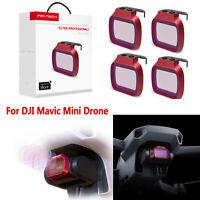 For DJI Mavic Mini RC Drone 1 Set  UV CPL ND-PL 8 16 32 64 Camera Lens Filter