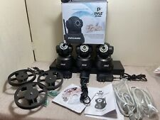 Pyle Pipcam5 Ip Wireless Camera Surveillance Security Monitoring System x3 Lot