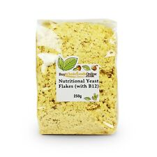Nutritional Yeast Flakes (Fortified with B12) 250g | BWFO | Free UK Mainland P&P