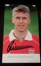 Matthias Zimmermann (FC Bayern München 2005/2006) Unterhaching Sonderdruck rar