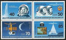 Germany (East) 1986 MNH - Manned Space Flight - Gagarin  Vostok Space Probe