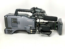 Panasonic AG-HPX500P DVCPRO-HD Camcorder and Canon Wide Lens! 35 HOURS!!!