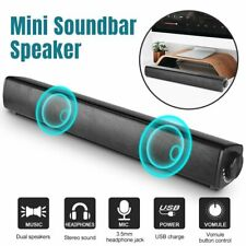 Tv Home Theater Soundbar Speaker Sound Bar Speaker System Mini Usb Subwoofer