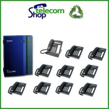 Panasonic KX-TDA30 Telephone System with 10 Phones