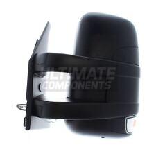 Iveco Daily Van 2006-2014 Short Arm Wing Door Mirror Manual Black Passenger Side