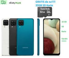 Samsung GALAXY A12 Smartphone Schwarz black 64GB SM - A125F Dual-SIM Android LTE