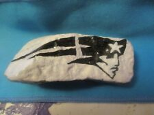 """""""New England Patriots""""  Paperweight/Pet Rock-Hand Painted"""