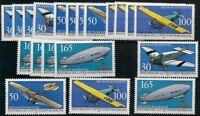 Federal De 1991 Perfecto Estado MiNr.1522-1525 5 Juegos - Histórico Correo Aéreo