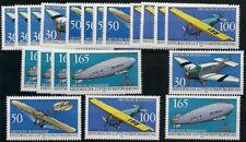 Bund aus 1991 ** postfrisch MiNr.1522-1525 5 Sätze - Historische Luftpost!