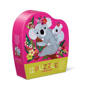 Crocodile Creek - Koala Cuddle 12pc Mini Puzzle