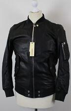 Diesel L-shadow mens leather jacket size XS