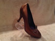 Couture Donald J Pliner Made In Italy Copper Heels Womens Shoes Size 7