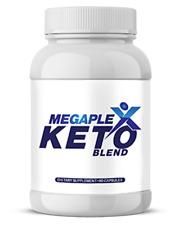 MegaPlex Keto Blend Supplement BHB LOSE WEIGHT REDUCE HUNGER BURN FAT NATURALLY