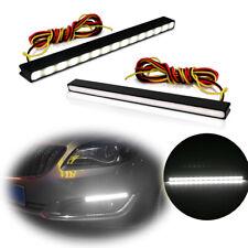 Switchback Led Drl Daytime Running Lights Fog Lamps Kit Ultra Slim X2(Fits: Neon)