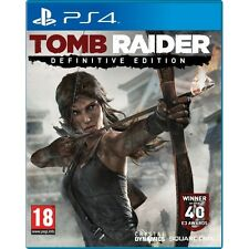 TOMB RAIDER DEFINITIVE EDITION GIOCO PS4-Nuovo di zecca!