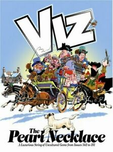 The Pearl Necklace: Viz Annual by Viz Hardback Book The Cheap Fast Free Post