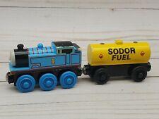 Thomas & Friends Wooden Railway Train Tank Engine & Sodor Fuel