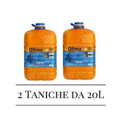 Tanica QLIMA Kristal inodore lt 20 combustibile stufe inodore universale