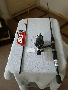 Spinning fishing Rod ZEBCO 5'Ultra Light  And Reel Shakespeare