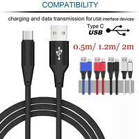 Heavy Durable Braided Quick Charger Type-C USB C 3.1 Data Snyc Charging Cable