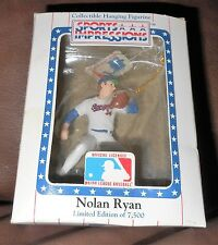 Nolan Ryan Limited Edition Hanging Figurine  NIB
