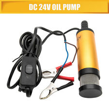 12V Liquid Diesel Fuel Pump Submersible Transfer Vessel Water Oil Car Auto DC