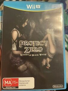 Project Zero Maiden of Blackwater Limited Edition Nintendo Wii U PAL
