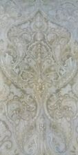 pottery barn drape panel nwot mackenna curtain panel 3 in 1 taupe paisley