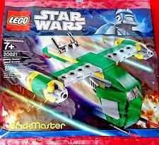 """Lego Star Wars """"cañonera de asalto de cazador de recompensas"""" (EE. UU.) Exclusivo 20021 Nuevo Bolsa De Polietileno"""