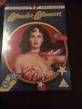 WONDER WOMAN (LYNDA CARTER) COMPLETE THIRD SEASON 3 DVD *NEW & SEALED*