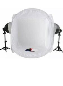 Photography Tent Box Studio Soft Lighting Kit 80cm with lamp holder  light bulbs