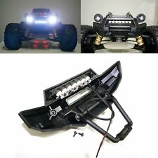 Front Bumper 7 LED Light Bar Lamp Mount for 1/5 Traxxas X-MAXX XMAXX RC Car New