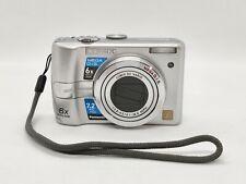 Working Panasonic LUMIX DMC-LZ6 7.2MP Digital Camera Silver - Tested and working