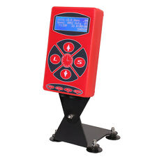 Premium Red Color Pro LCD Digital Power Supply for Tattoo Machine Liner Shader