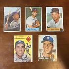 1953 Bowman Baseball Cards - Color and Black & White Series 54