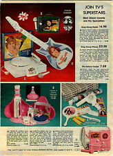 1978 ADVERT Shaun Cassidy Phono Radio Guitar Dream Jeannie Charlie's Angels