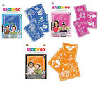 Snazaroo Face Painting Stencil Kits 3 Designs Boys Girls Face Paint Make Up Fun