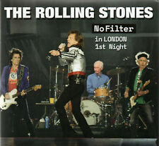 "THE ROLLING STONES - NO FILTER IN LONDON 1st  2CD CARDBOARD SLEEVE ""CRYSTAL CAT"""