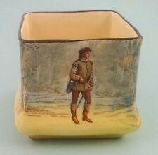 "1920s Royal Doulton Shakespearean Characters ""Orlando"" squat mini vase"