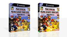 Super Smash Bros. Melee Reproduction Game Cube Case + Box Art Work Cover No Game