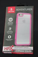 COQUE IPHONE 5 / 5S /SE ANTICHOC PELICAN ADVENTURER NEUVE ROSE ET TRANSPARENTE