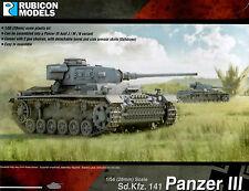 Rubicon Models 28mm 1/56 scale World War 2 German Panzer III tank model